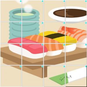 お寿司(4×4)