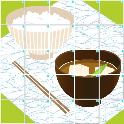 お茶碗(5×5)