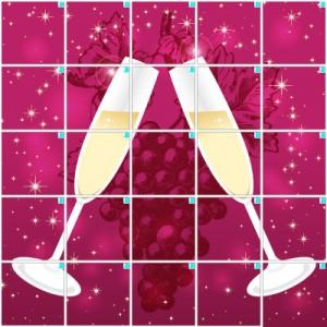 シャンパン(5×5)