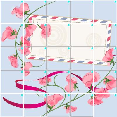 スイートピー(5×5)