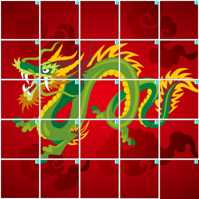 ドラゴン(5×5)