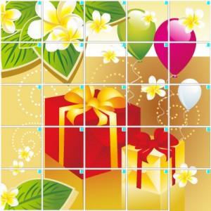 プレゼント(5×5)