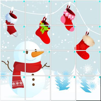 ホワイトクリスマス(4×4)