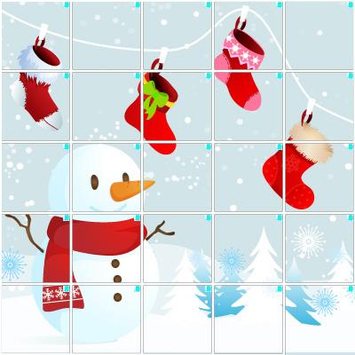 ホワイトクリスマス(5×5)