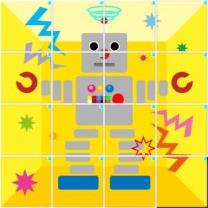 ロボット(4×4)