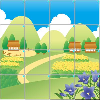 田舎(4×4)