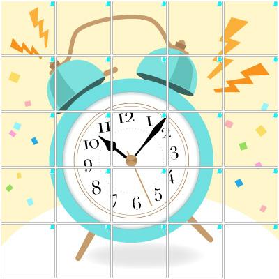 目覚まし時計(5×5)