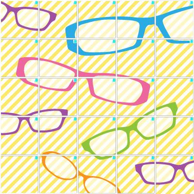 眼鏡(5×5)