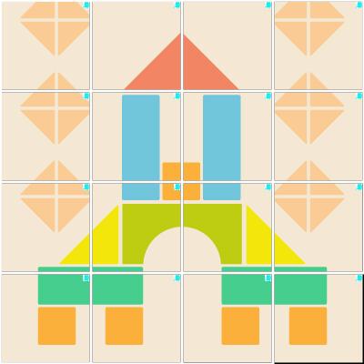 積み木(4×4)