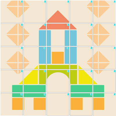 積み木(5×5)