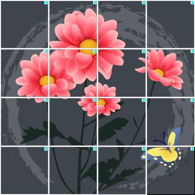 菊(4×4)
