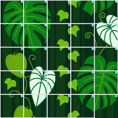 観葉植物(5×5)
