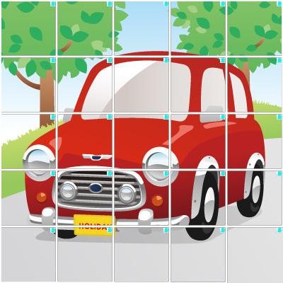車(5×5)