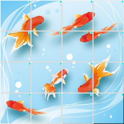 金魚2(4×4)
