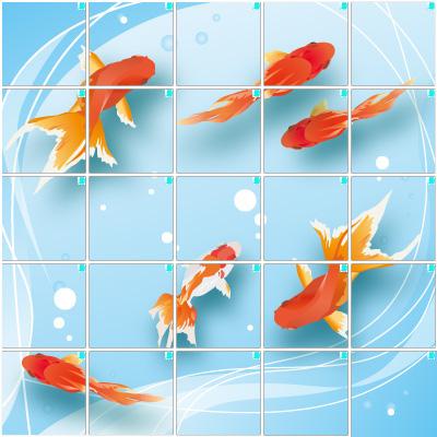 金魚2(5×5)