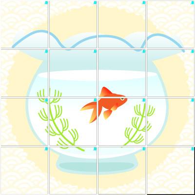 金魚(4×4)