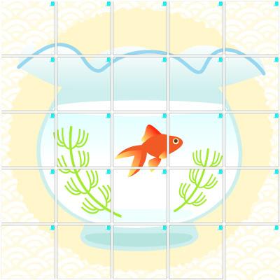 金魚(5×5)