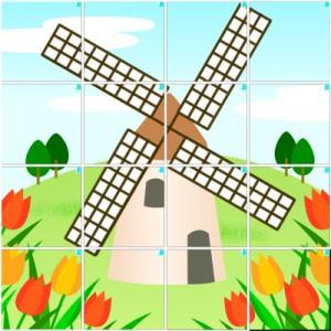 風車(4×4)