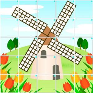 風車(5×5)