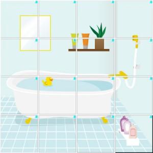 お風呂(4×4)