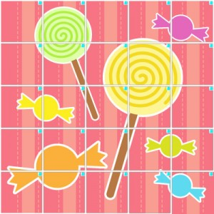 キャンディー(5×5)