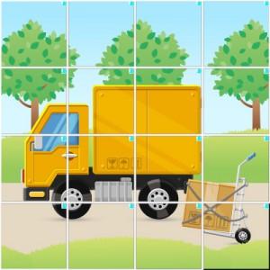 引っ越しトラック(4×4)