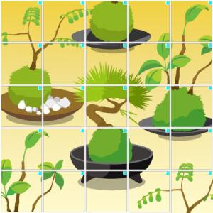盆栽(5×5)