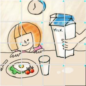 朝食(4×4)