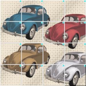 レトロな車(4×4)