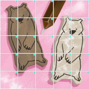 クマのクッキー(5×5)