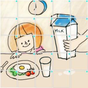 朝食(5×5)