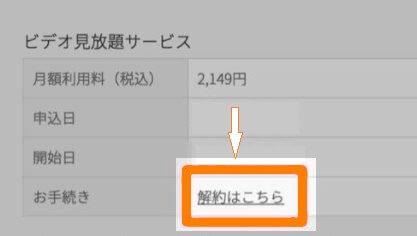 u-next退会解約
